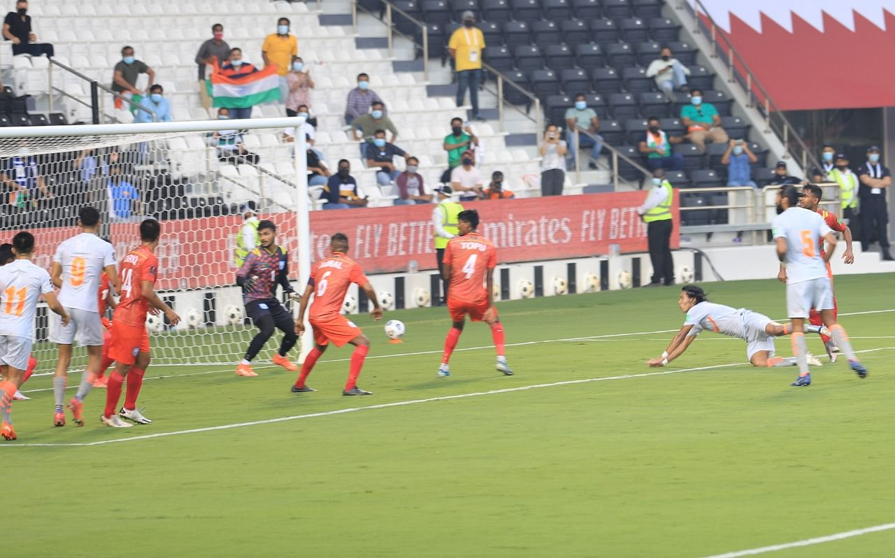 Chhetri Goals Give India Win vs Bangladesh in Asian Cup Qualifier   The  Blogger